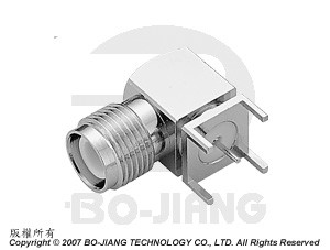 Reverse Polarity TNC RF/Microwave Coaxial connectors, PCB Mounting type