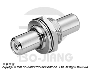 RCA ISOLIERTER BULKHEAD JACK-TO-JACK-ADAPTER - RCA-isolierter Schott-Adapter für Schottbuchsen
