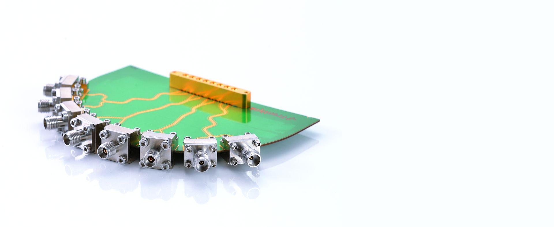 Конец запуска Разъемы Концевые соединители запуска Бо-Цзян, От постоянного тока до 110 ГГц