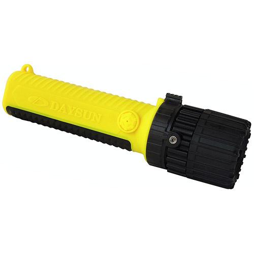 Lanterna de segurança intrinsecamente segura com feixe ajustável