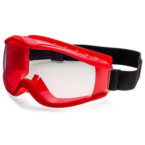 Rubber frame goggle deign