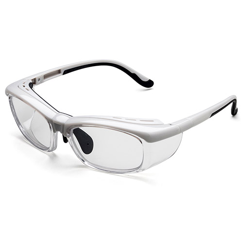 Optical eyewear with side shield