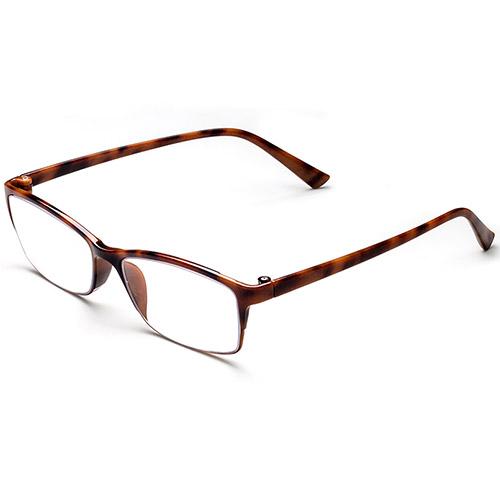 Óculos de prescrição de tartaruga quadrada