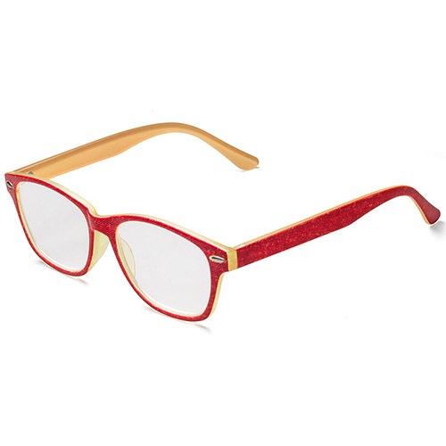 Retro Two-Tone Colors Reading Glasses