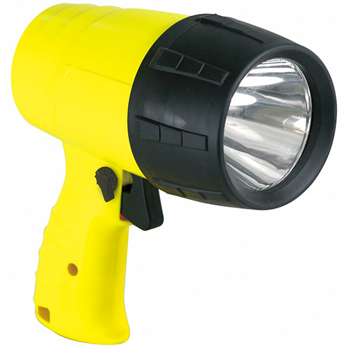 Pistol-Type Rechargeable Flashlight