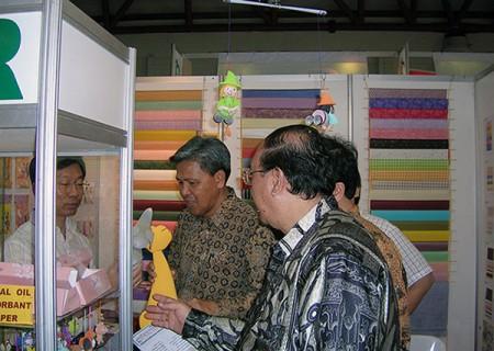 کاغذ پولی در نمایشگاه تجاری