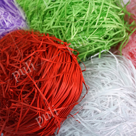 Shredded Paper - Color Paper Shred Manufacturer