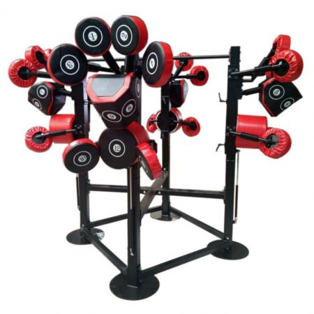 Four Station Adjustable Boxing Stand