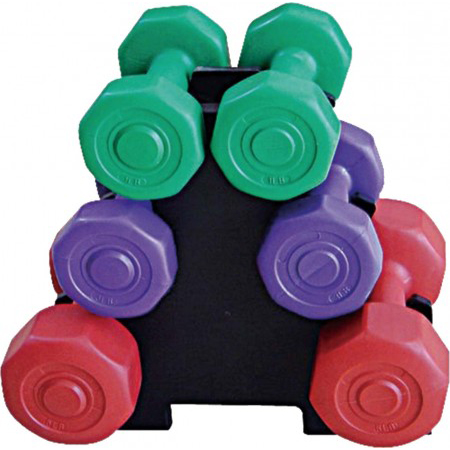 Cement Dumbbell Set