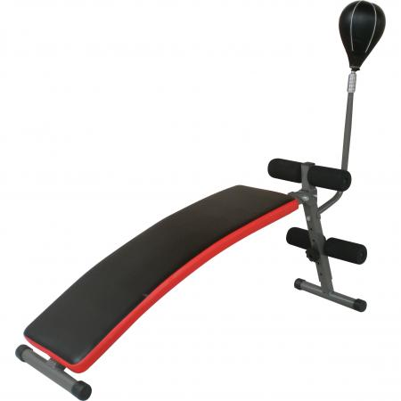 Sit-Up Bench With Punch Ball