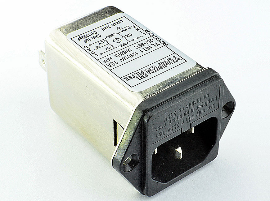 The rated current can be offered up to 10 amps and available with double fuse holder.