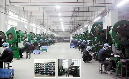 專司於提供濾波器所需之相關五金料件,如鐵殼、鐵蓋、端子等。
