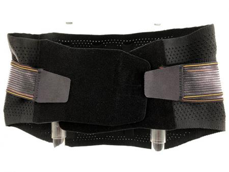 Flat Knitting Waist Support With Cinch Elastic Band
