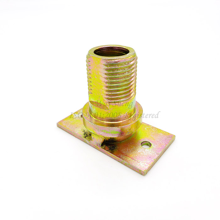 Pivot Hinge Strip Bushing Yellow Zinc Plating