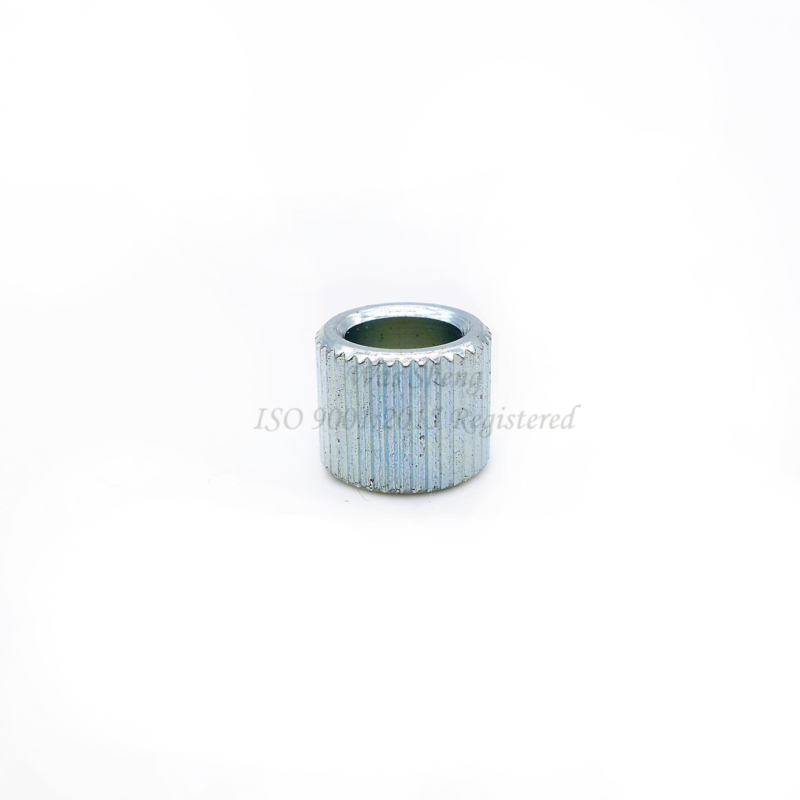Spacer Standoff Straight Knurled Collar Zinc Plating