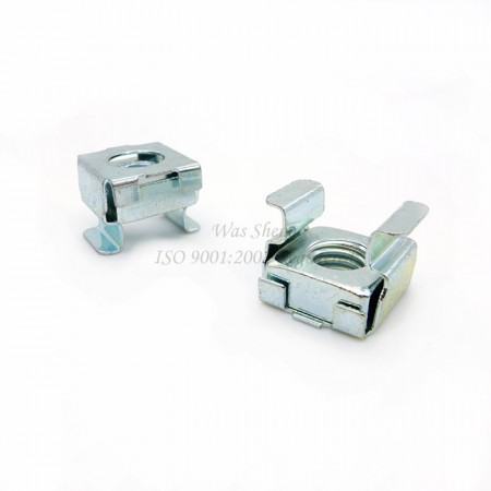 Floating Metric Cage Nuts Steel Zinc Plating - Floating Metric Cage Nuts Steel Zinc Plating