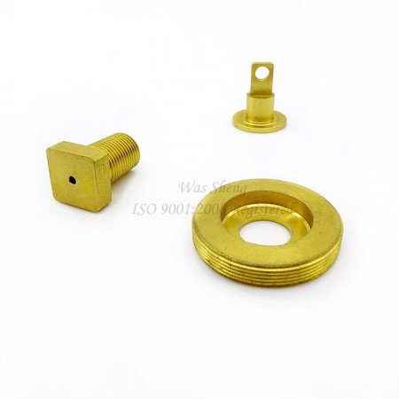 Brass NPT Fittings, Threaded Plug - Couplings with thread types including: NPT, NPTF, BSPT, UNF, and Metric. All the threads in this section depend on customer's request.