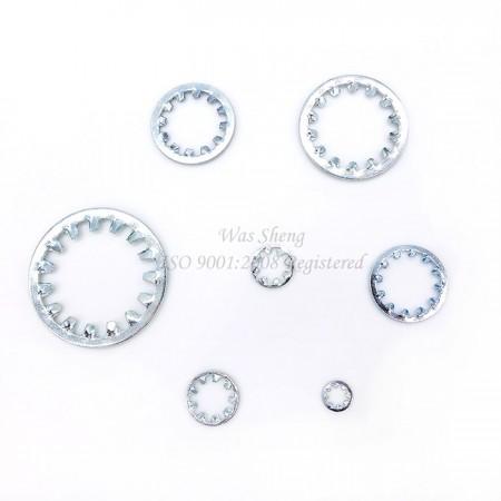 แหวนล็อคฟันภายใน DIN 6797 - DIN 6797 แหวนล็อคฟันภายใน, ชิ้นส่วนปั๊ม