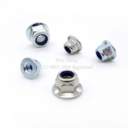 DIN 6926 Hexagon Flange Nylon Insert Lock Nuts - DIN 6926 Hexagon Flange Nylon Insert Lock Nuts