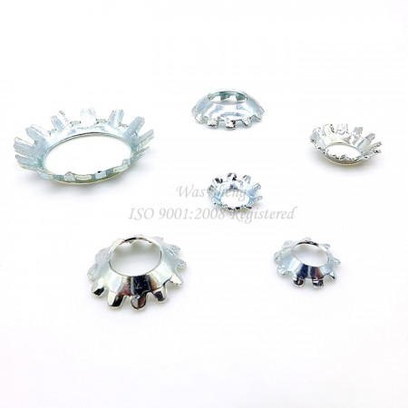 IFI Countersunk แหวนล็อคฟันภายนอก - IFI Countersunk แหวนล็อคฟันภายนอก, ปั๊มชิ้นส่วน