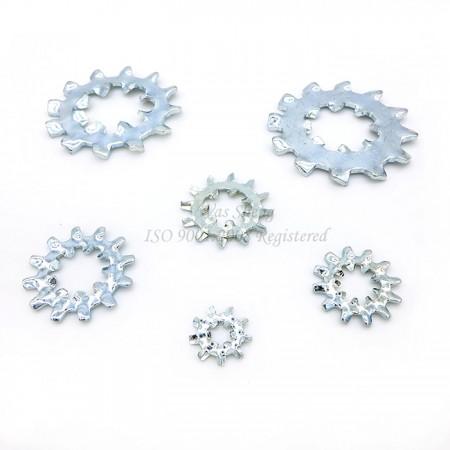 แหวนล็อคฟันภายใน / ภายนอก IFI - IFI ภายใน / ภายนอกแหวนล็อคฟัน, ปั๊มชิ้นส่วน