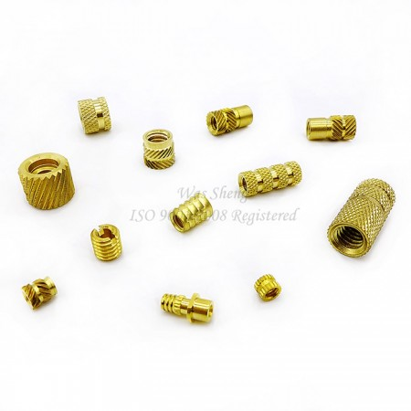 Brass Knurling Threaded Round Inserts for Plastic - Brass Knurling Threaded Round Inserts for Plastic