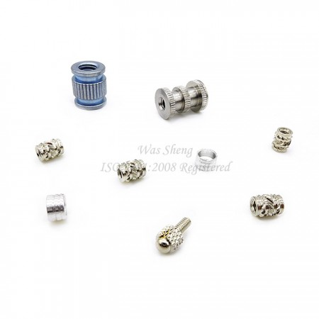 Metal Straight Knurling Threaded Insert Bushings - Metal Straight Knurling Threaded Insert Bushings