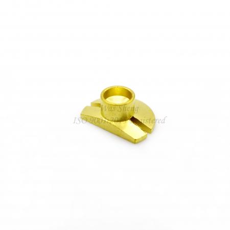 Brass C3604 Flip Lip Lock Screw Bright Dipped - Brass C3604 Flip Lip Lock Screw Bright Dipped