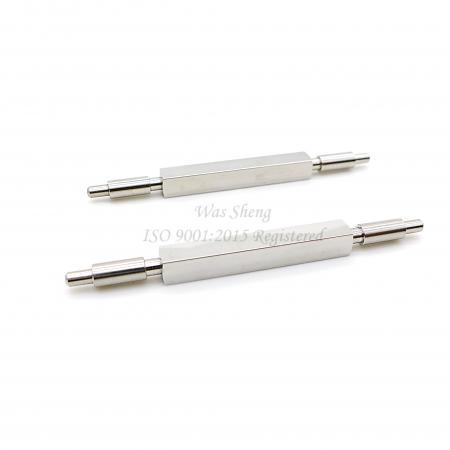 สแตนเลส 303 เพลาเหลี่ยม 5 X 66 mm - สแตนเลส 303 เพลาเหลี่ยม 5 X 66 mm