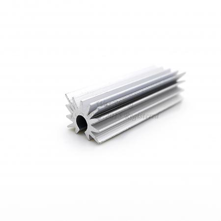 Aluminium 6061 Extrusion CPU Transistor Heatsink Plain Finish - Aluminium 6061 Extrusion CPU Transistor Heatsink Plain Finish