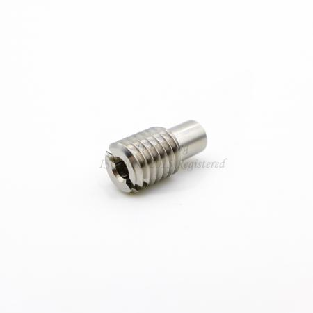 Threaded Pin M8 X 16, Slotted Set Screw AISI 304 - Threaded Pin M8 X 16, Slotted Set Screw AISI 304