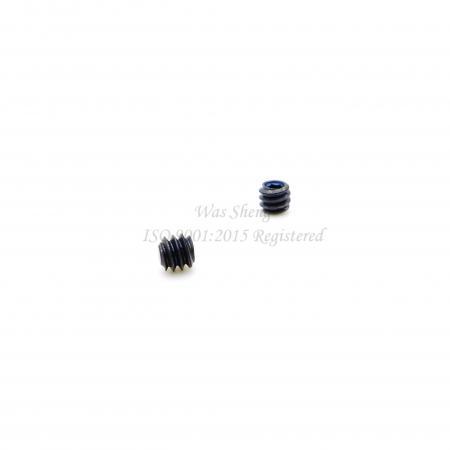 Hex Socket Set สกรู M3 X 3 mm Black Oxide - Hex Socket Set สกรู M3 X 3 mm Black Oxide
