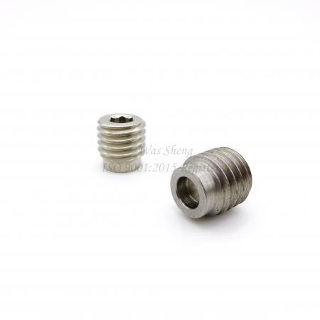 Hex Socket Screw 16 / 9-12 Threaded Dog Point - Hex Socket Screw 16 / 9-12 Threaded Dog Point