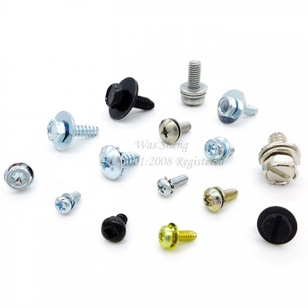 Phillips Pan Head Double Washers SEMS Machine Screws - Phillips Pan Head Double Washers SEMS Machine Screws