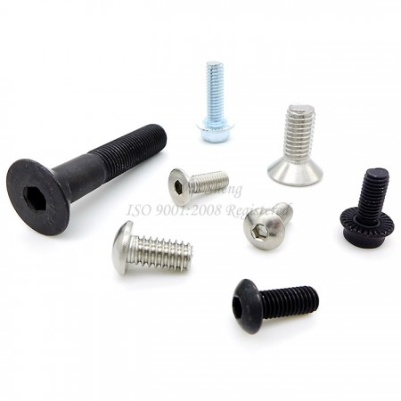 Hex Socket CSK / Button Head / Flat Head Socket Cap Screws - Hex Socket CSK / Button Head Screws, Flat Head Socket Cap Screws