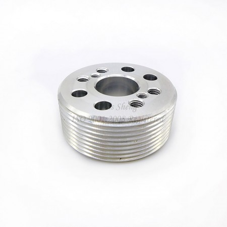Aluminum Pipe Flange Thread M36 X 1.5 mm - Aluminum Pipe Flange Thread M36 X 1.5 mm