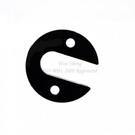 อลูมิเนียมสีดำ Anodized Custom Retainer Hub