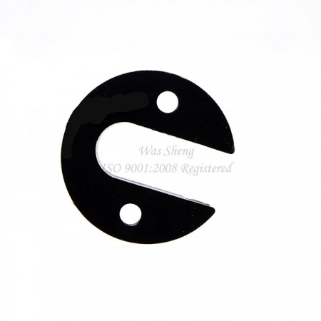 Aluminum Black Anodized Customized Retainer Hub - Aluminum Black Anodized Customized Retainer Hub