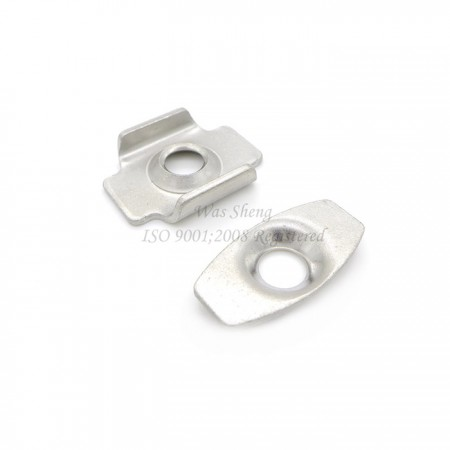 Saddle Clamp Washer Stainless Steel Plain Finish - Saddle Clamp Washer Stainless Steel Plain Finish