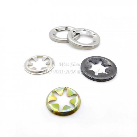 Push Nuts & Speed Locking Starlock Washers