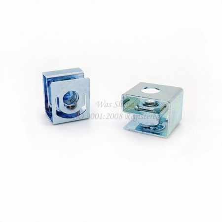 Spring Steel G-Type Cage Nuts Zinc Plated - Spring Steel G-Type Cage Nuts Zinc Plated