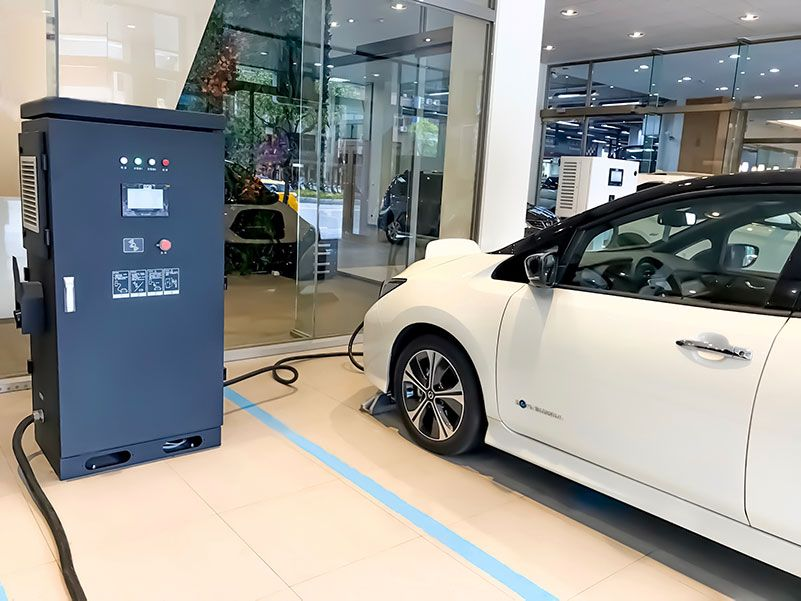 CIC's EV Fast Charger