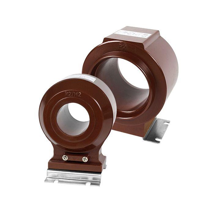 中壓 (3kV) 貫穿式樹脂模注屋內比流器 - 單(雙)鐵心 (巧力 CR-3S 系列)