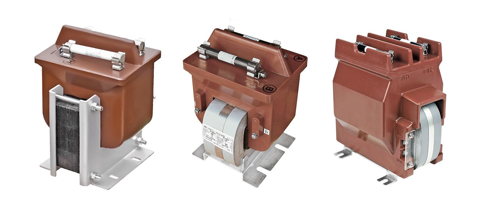 Coil Molded Single-Phase Potential Transformers for Indoor Use (EP-3SF/6SF Series)