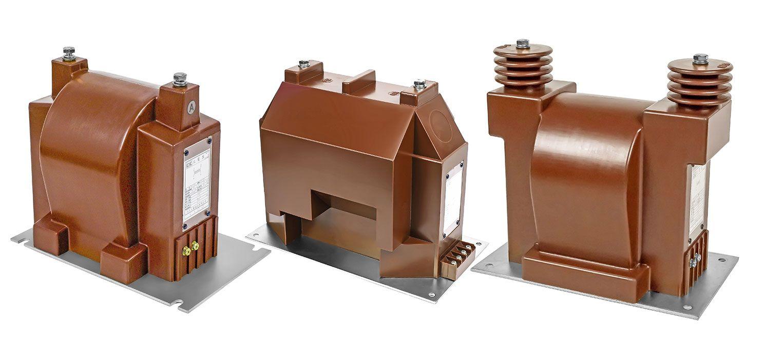 Transformateurs de potentiel en résine époxy 10/20 kV pour utilisation en intérieur (modèles: EPF-10B / 20SE / 20SI)