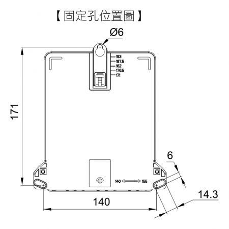 BAW-4C 尺寸圖 2