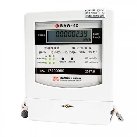 通訊型電子式電表 (附 RS485) — 三相三線 / 三相四線