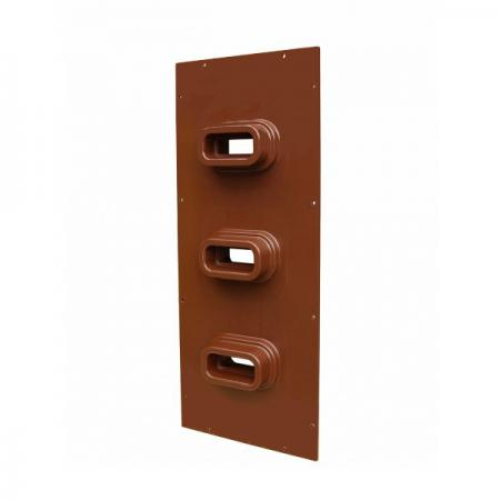 Epoxy Bushing Plate for Busbars (for Vertical Wiring)