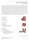 Rectangular Current Transformers ES-1S-A/B/C Series