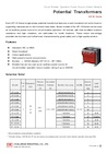 Indoor Low-Voltage Single-Phase Potential Transformers (EP-1S Series)